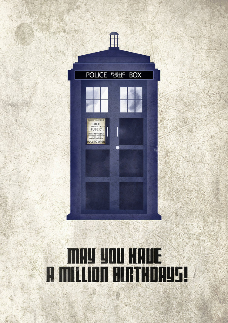 Доктор кто открытка 92